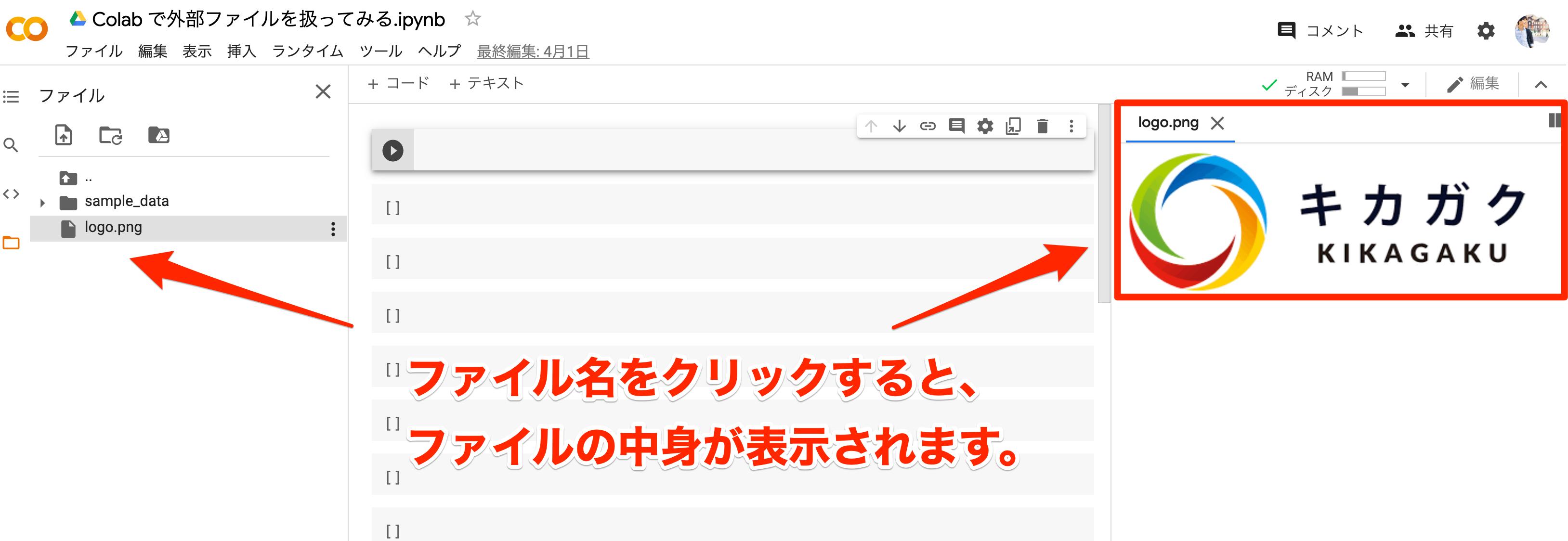 Google Colaboratory file