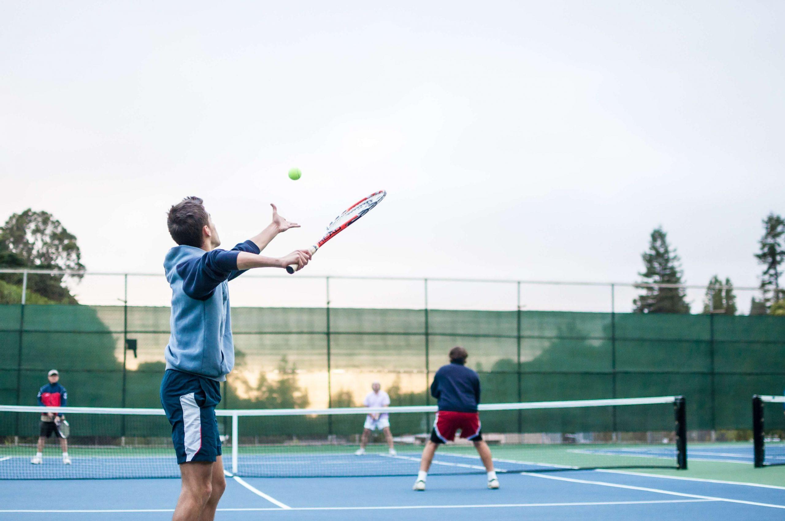 tennis serve テニスの落下地点予測
